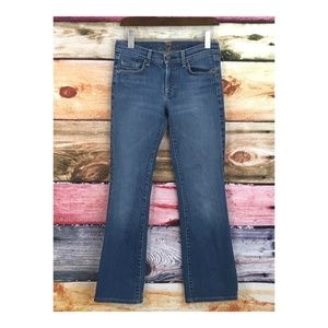 7 for All Mankind Bootcut Jeans Sz 28 x 29 Blue